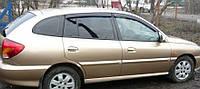 Дефлекторы окон Kia Rio I Wagon 2000-2005   Ветровики Киа Рио