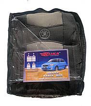 Автомобільні чохли Skoda Fabia МК II 2007 - з/сп (роздільна) Nika