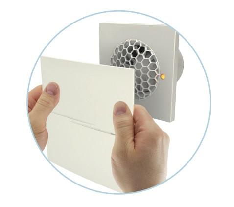 Инновационный осевой вентилятор Вентс Квайт Стайл 100