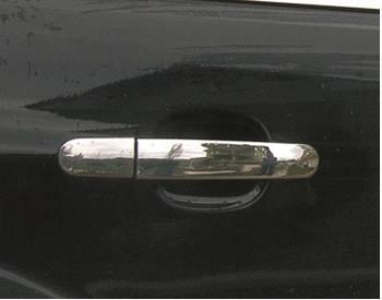Ford Focus II 2005-2008 гг. Накладки на ручки (4 шт., нерж.) OmsaLine - Итальянская нержавейка