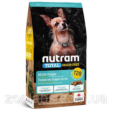 Корм Nutram для собак мелких пород лосось и форель | Nutram T28 Total Grain Free Salmon&Trout Small Breed 2 кг, фото 2