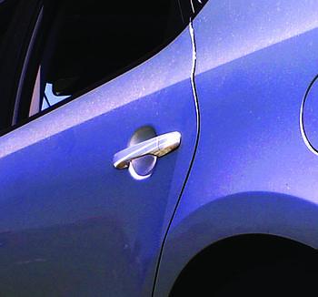 Hyundai Elantra 2006-2011 гг. Накладки на ручки (4 шт., нерж.) OmsaLine - Итальянская нержавейка