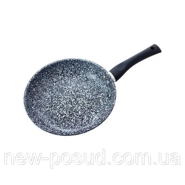 Сковорода з мармуровим покриттям 26 см Benson BN-566