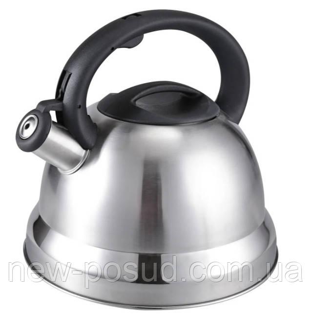 Чайник из нержавеющей стали 3 л со свистком Benson BN-709