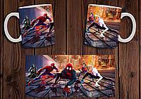 """Чашка """"Человек-Паук"""" / Кружка Spider-Man №3"""