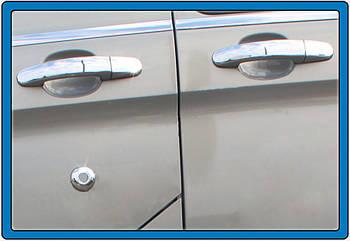 Ford Custom 2013↗ гг. Накладки на ручки (нерж.) 4 двери