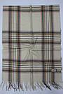 Кашемировый теплый шарф палантин  Cashmere 107040 Бежевый, фото 2