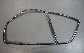 BMW 3 серия E-90/91/92/93 2005-2011 гг. Накладки на стопы (2 шт., пласт)