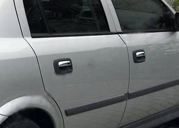 Opel Vectra B 1995-2002 гг. Накладки на ручки (4 шт., нерж.)