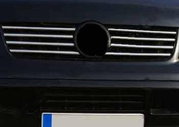 Opel Vectra B 1995-2002 гг. Накладки на решетку (нерж)