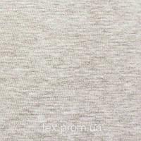 Трикотажное полотно рибана хб/эл, серый меланж