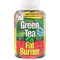 ОРИГИНАЛ! Жиросжигающий зеленый чай,appliednutrition для похудения Green Tea Fat Burner 90 капсул из США