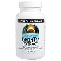 ОРИГИНАЛ!Экстаракт Листьев Зеленого Чая для похудения 500мг,Source Natural производства США