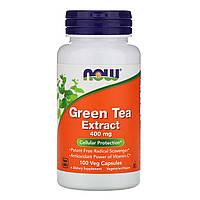 ОРИГИНАЛ!Экстракт зеленого чая, EGCg (Green Tea), Now Foods Жиросжигатель зеленого чая 100 капсул из США