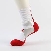 Носки спортивные Aolikes 41-43 Красно-белый