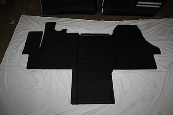 Peugeot Boxer 2006↗ и 2014↗ гг. Коврики резиновые (3 шт, Stingray) Premium - без запаха резины
