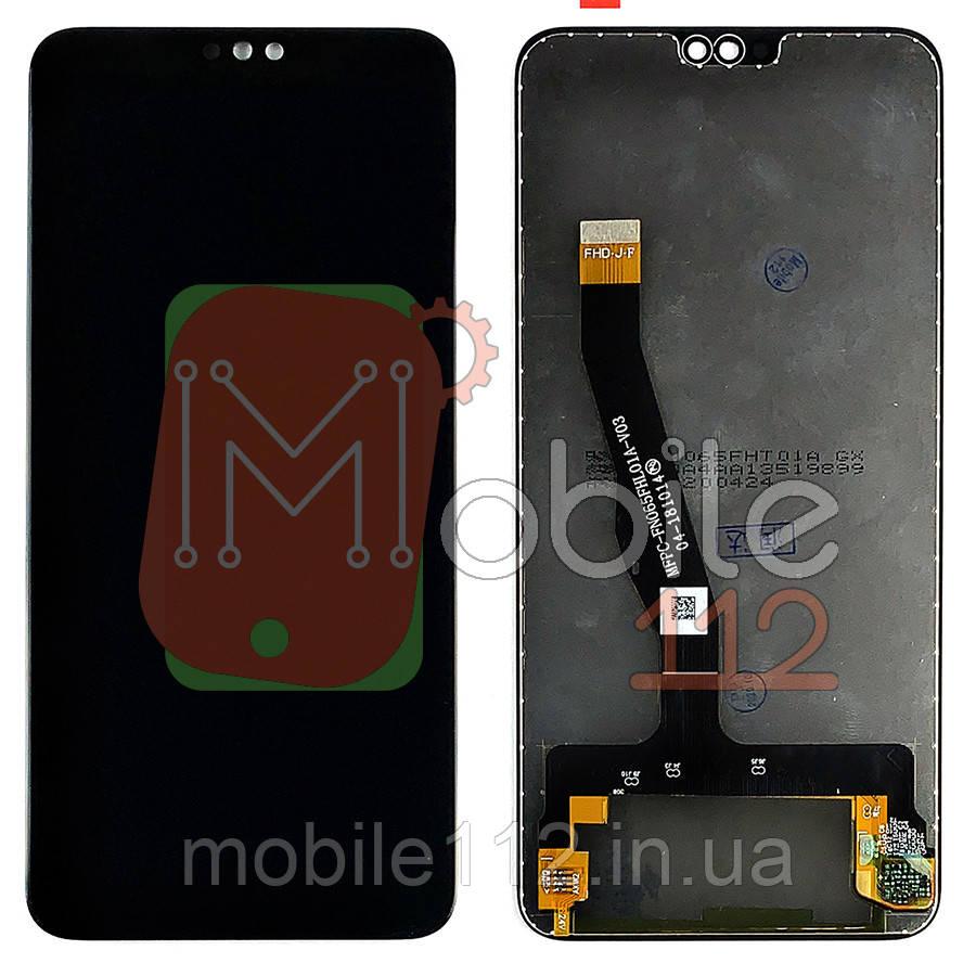 Экран (дисплей) Huawei Honor 8X JSN-L21 L22 L42 L11 L23 AL00 TL00 AL00a + тачскрин черный оригинал Китай