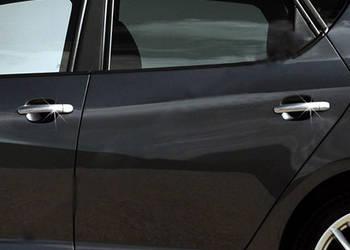 Seat Ibiza 2010-2017 гг. Накладки на ручки (4 шт, нерж) OmsaLine - Итальянская нержавейка
