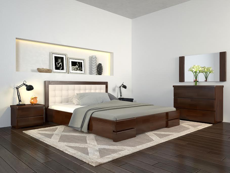 Кровать Регина Люкс с подъемным механизмом TM ArborDrev
