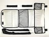 Комплект сумка-пеленатор і рукавички на коляску Z&D New Еко шкіра (Золотий), фото 6