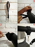 Комплект сумка-пеленатор і рукавички на коляску Z&D New Еко шкіра (Золотий), фото 7