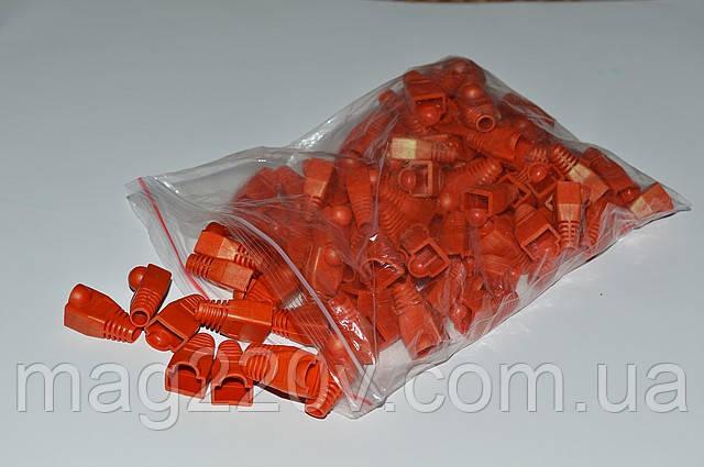 Изолирующий колпачок ( красного цвета) для RJ45