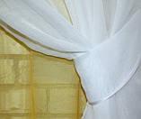"""Омбре"", ткань батист, под лён. На карниз 2-3м.  Цвет жёлтый с белым 031дк 649т, фото 4"