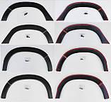 Защитные накладки на колесные арки для Dacia Renault Duster II 2018+, фото 8