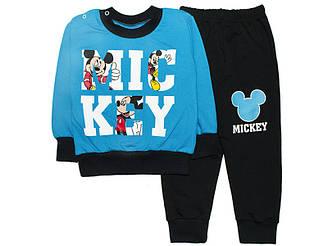Спортивный костюм с начесом для мальчика Микки