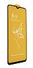 Захисне скло для Oppo F9/Oppo R17/Realme 2 Pro/Realme 3 Pro/Realme 5 Pro/Realme XT, Full Glue, колір чорний