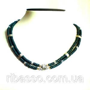 Намисто, сережки двоярусні - кераміка