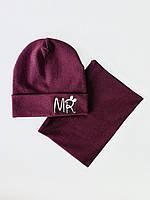 Дитяча шапка з хомутом хб 48-50 розмір