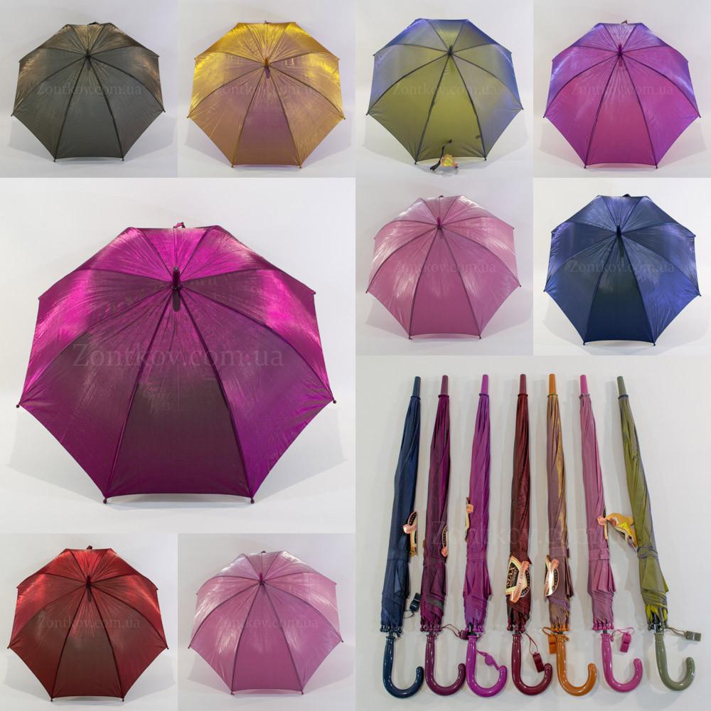 """Однотонный зонтик хамелеон оптом на 4-9 лет от фирмы """"Max""""."""