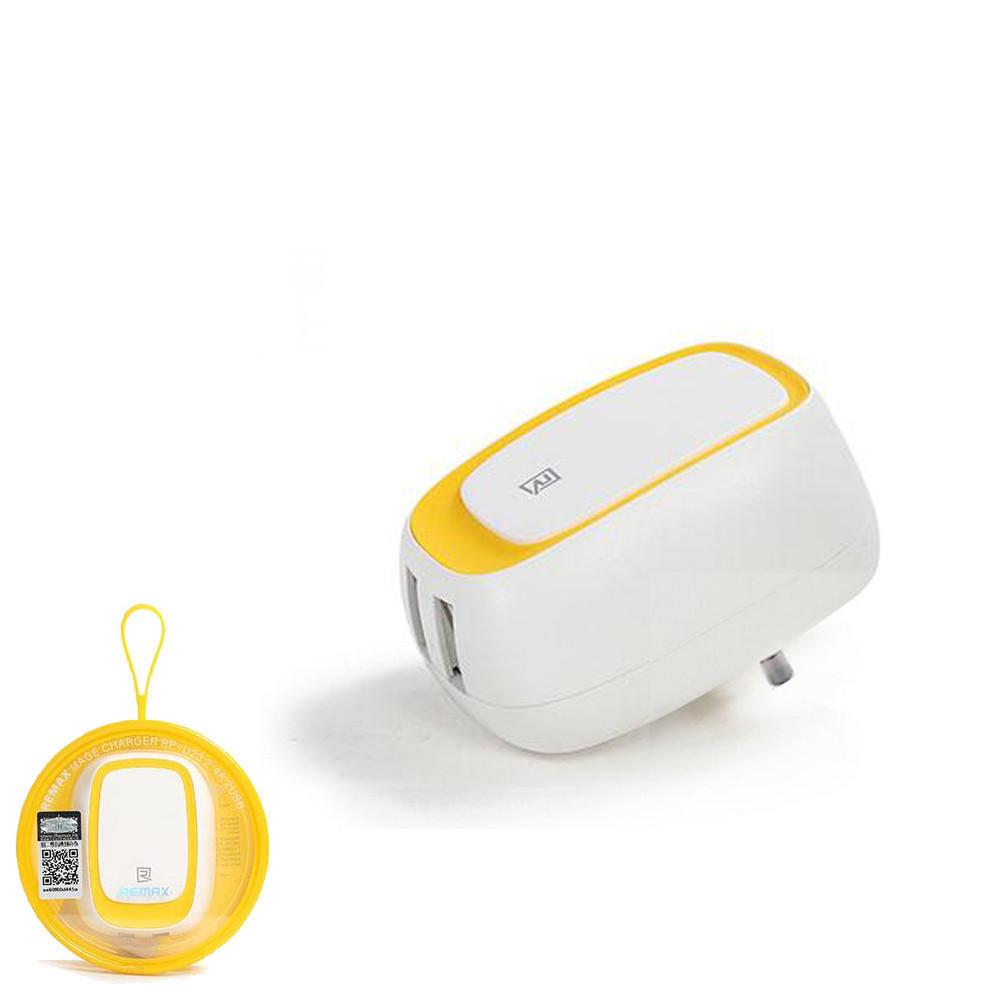 Зарядное устройство Remax RP-U23 Yellow (6954851271888)