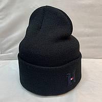 Шапка черного цвета Tommy Hilfiger