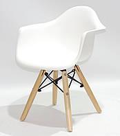 Детский стул Leon Eames kids, белый