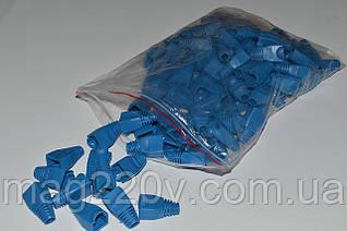 Изолирующий колпачок ( синий цвет) для RJ45