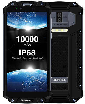 Oukitel WP2  4/64GB - Аккумулятор 10000 мАч(противодуарный защищенный смартфон)