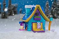 Детский игровой набор от 6лет Jazwares Nanables Small House Книжный магазин У камина (NNB0032)