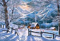 Пазлы на 1500 элементов Снежное утро Сastorland