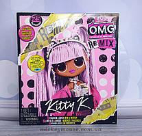 L.O.L. Surprise! Кукла ЛОЛ ОМГ Королева китти O. M. G. Remix Kitty 567240