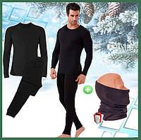 Термобелье мужское на флисе Bioactive микрофлис, комплект чоловічоЇ термобілизни + подарок