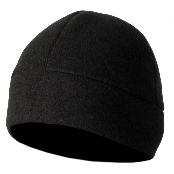 Флисовая шапка Polartec Classic 200 черная от Commandor