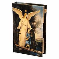 Книга сейф с кодовым замком Ангел 26 см, фото 1