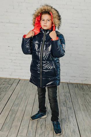 Детская зимняя куртка для мальчика Трофим | на рост 122-146р., фото 2