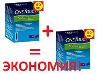 Тест-полоски One Touch Select 100 шт. (2х50)
