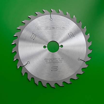 200х2,8х1,8х30 z=30 Пильний диск по дереву Stehle для поздовжнього пиляння, фото 2