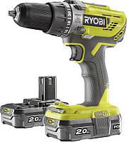 Аккумуляторный  шуруповёрт  Ryobi  R18DD3-220S  (5133003348)