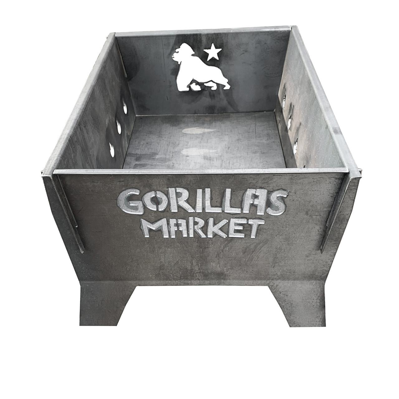 """Мангал раскладной """"Gorillas BBQ"""" 3мм"""