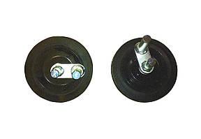 Комплект  колес  NTC  для  виброплит  VDR22,26,32